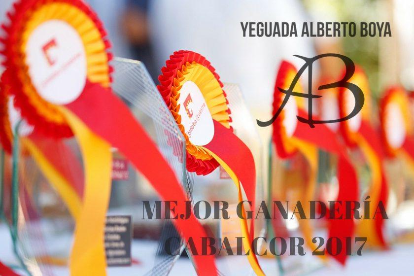 CABALCOR 2017: YEGUADA ALBERTO BOYA MEJOR GANADERÍA EXPOSITORA