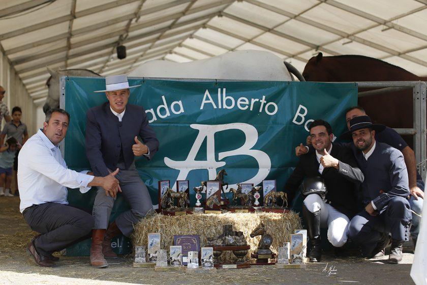 LORCA 2017: YEGUADA ALBERTO BOYA MEJOR GANADERÍA EXPOSITORA